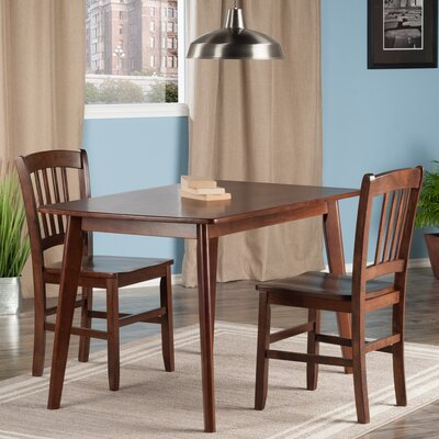 Guynn 3 Piece Dining Set