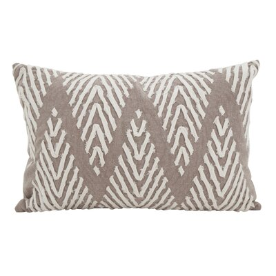 East Rolstone Chevron Cotton Lumbar Pillow