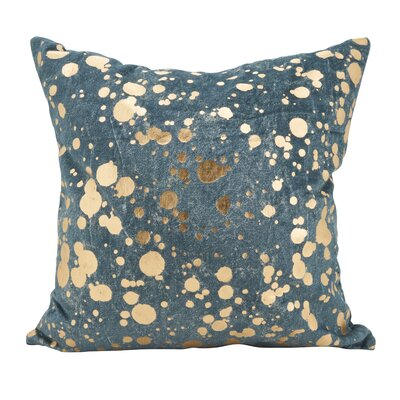 Owsley Foil Spattered Down Filled Throw Pillow