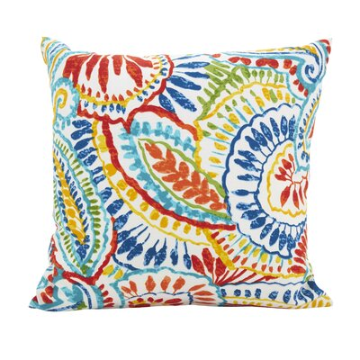 Hanning Patio Outdoor Throw Pillow Size: 17 x 17