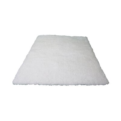 Marshburn Hand-Tufted White Area rug