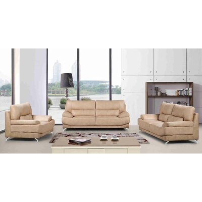 Martinelli 3 Piece Living Room Set