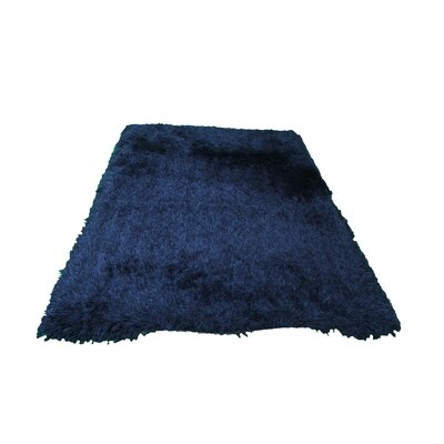 Marten Hand-Tufted Blue Area Rug