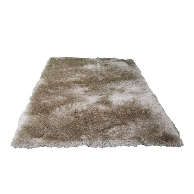 Martinek Hand-Tufted Beige Area Rug