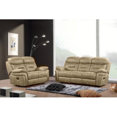 Follis 3 Piece Living Room Set