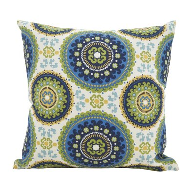 Maughan Kaleidoscope Throw Pillow Size: 17 x 17