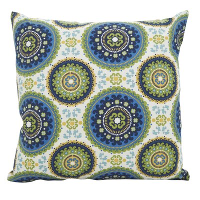 Maughan Kaleidoscope Throw Pillow Size: 21x 21