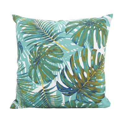 Ravenworth Island Breeze Throw Pillow Size: 17 x 17