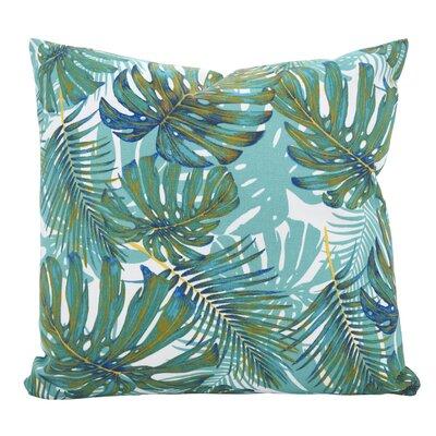 Ravenworth Island Breeze Throw Pillow Size: 21 x 21