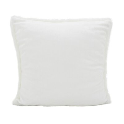 Occhipinti Faux Furry Throw Pillow