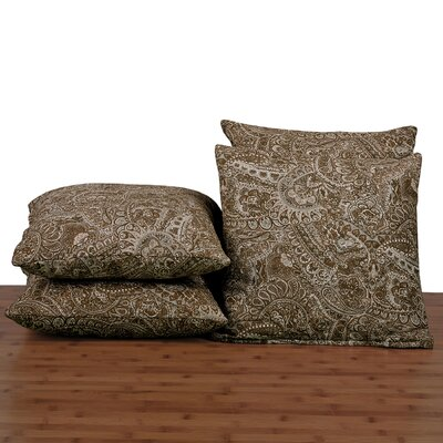 Paisley Throw Pillow Color: Amphora