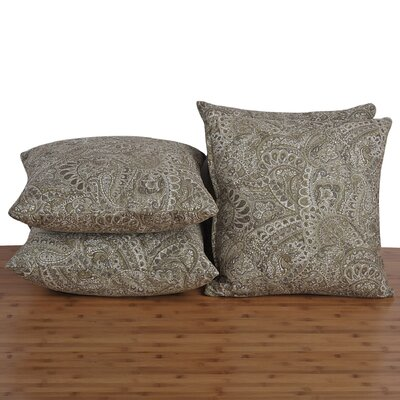 Paisley Throw Pillow Color: Dried Herb