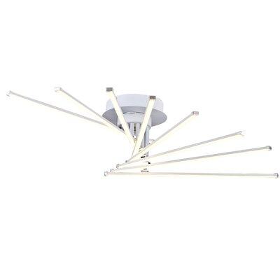 Sangerfield 8-Light LED Semi Flush Mount