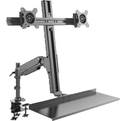 Tilt and Swivel Desktop Mount for 20 - 27 LCD LED