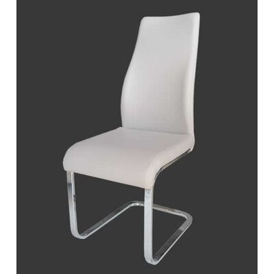 Wendland Dining Chair (Set of 2) Upholstery Color: White