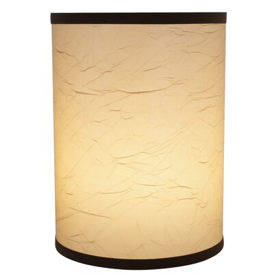 Drum Clip-On Construction Linen Lamp Shade Size: 11 H x 8 W x 8 D