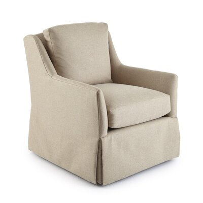 Howard Swivel Armchair Upholstery: Regent Pebble