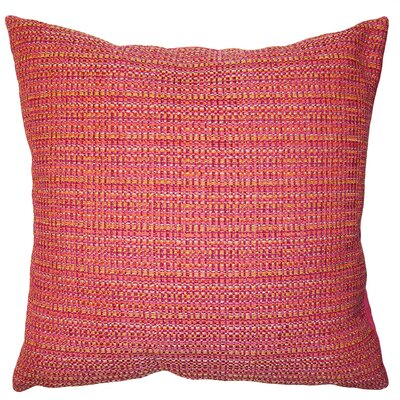 Rainbow Plaid Pillow Size: 24 x 24