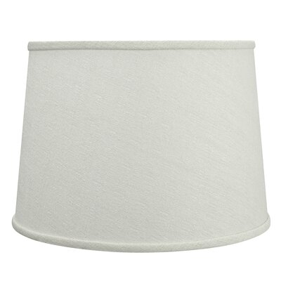 Hardback Spider Construction 14 Linen Empire Lamp Shade Color: Off White
