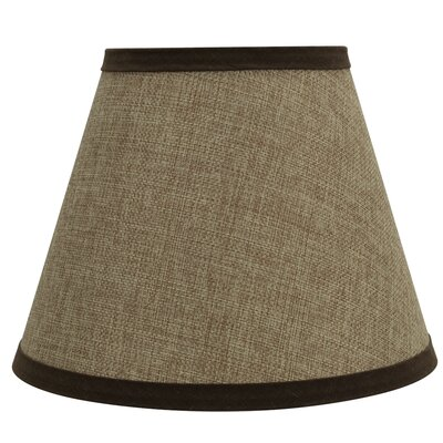 Hardback Spider Construction 9 Linen Empire Lamp Shade Color: Brown