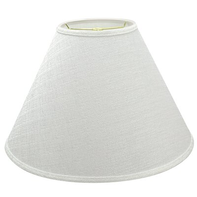 Hardback Spider Construction 9 Linen Empire Lamp Shade Color: White