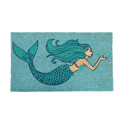 Hempstead Mermaid Welcome Doormat