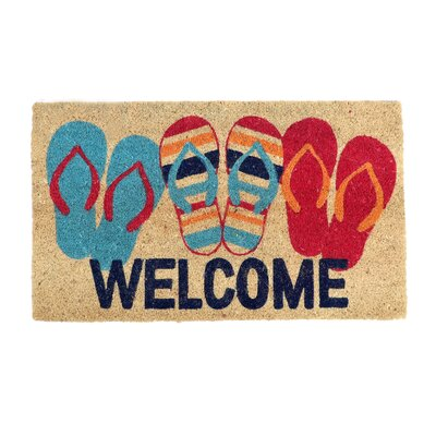 Chuyen Flip Flop Welcome Doormat