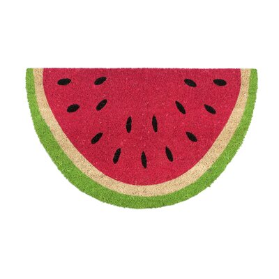 Oanh Watermelon Wedge Doormat