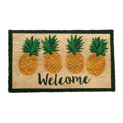 Holton Pineapple Welcome Doormat