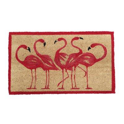 Lynnhaven Flamingo Doormat