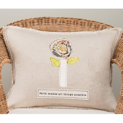 Gillie Faith Makes All Things Cotton Pillow Cover