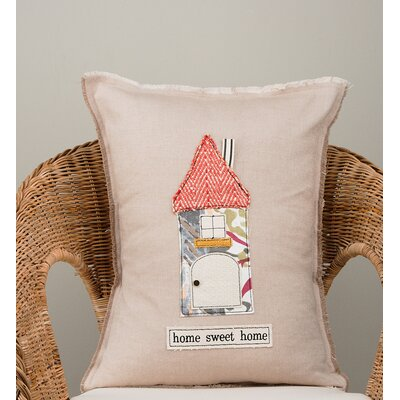 Gupton Home Sweet Home Cotton Pillow Cover