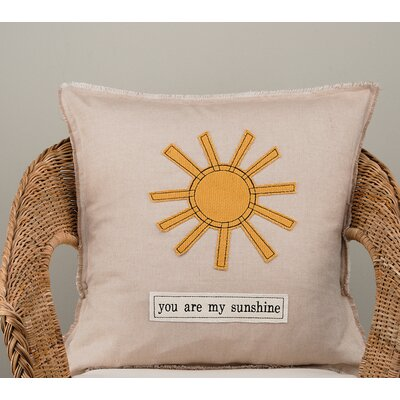 Gunther You Are My Sunshine Cotton Pillow Cover