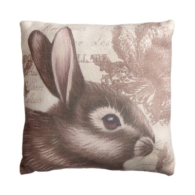 Marylee Bunny Throw Pillow
