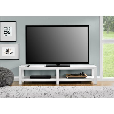 Erhart Parsons 60 TV Stand Color: White