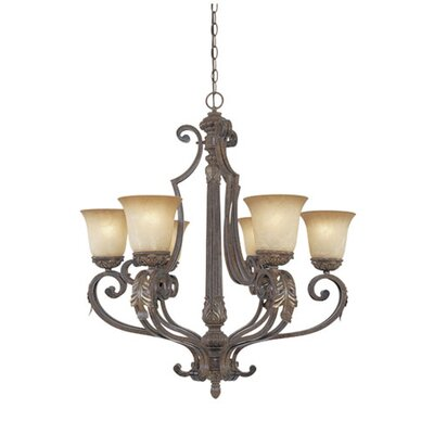 Caufield 6-Light Candle-Style Chandelier