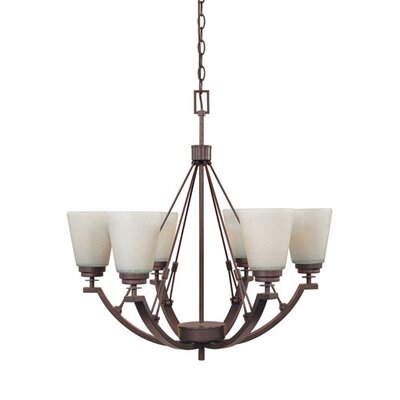 Clapham 6-Light Candle-Style Chandelier