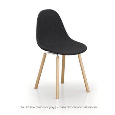 Castillo Upholstered Dining Chair Upholstery Color: Dark Gray
