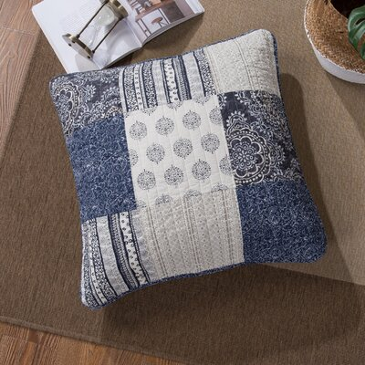 Galey Patchwork Cotton Sham