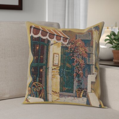 Cambridge Passage to San Marco I Cotton Pillow Cover