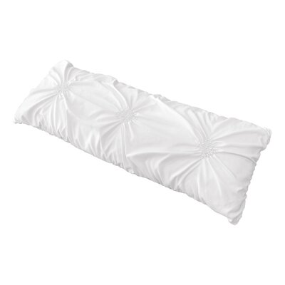 Harper Body Pillow Case Color: White