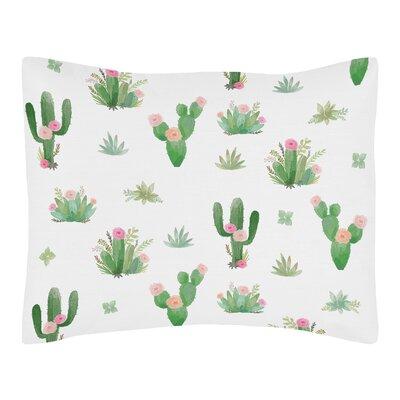 Cactus Floral Sham