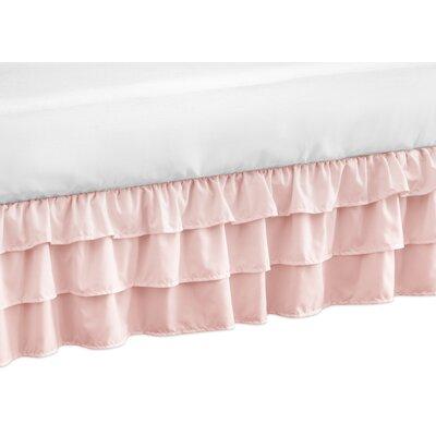 Harper Crib Bed Skirt Color: Pink