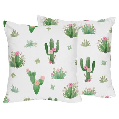 Cactus Floral Indoor Throw Pillow