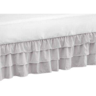 Harper Crib Bed Skirt Color: Gray