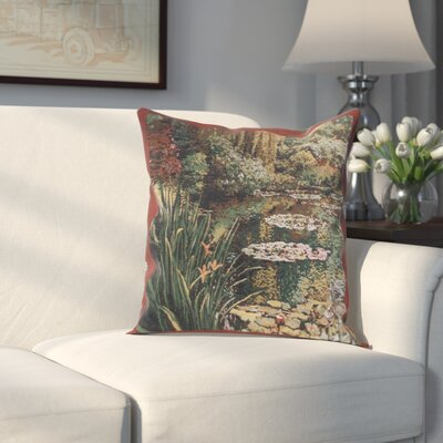 Hiltner Greenery Cotton Pillow Cover