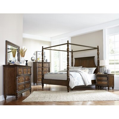 Kimbro Canopy Bed Size: California King