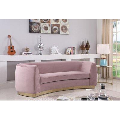 Antonsen Sofa Upholstery: Pink