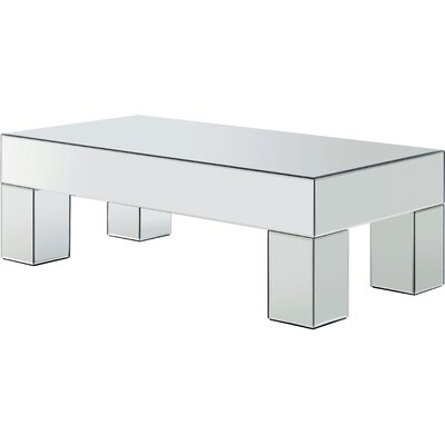 Nevels Mirrored Coffee Table
