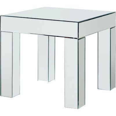 Nevels Mirrored End Table
